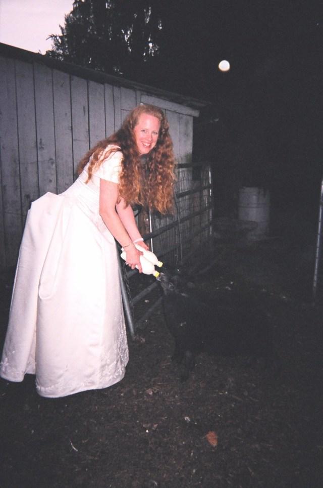 Monette and Bobbitt at wedding 2003