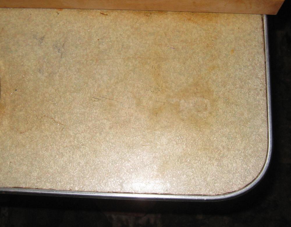 Vintage Countertop Materials : old countertop