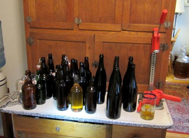 carboy 9 bottles