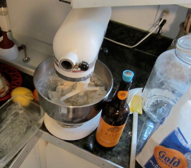 ingredients for cider bread