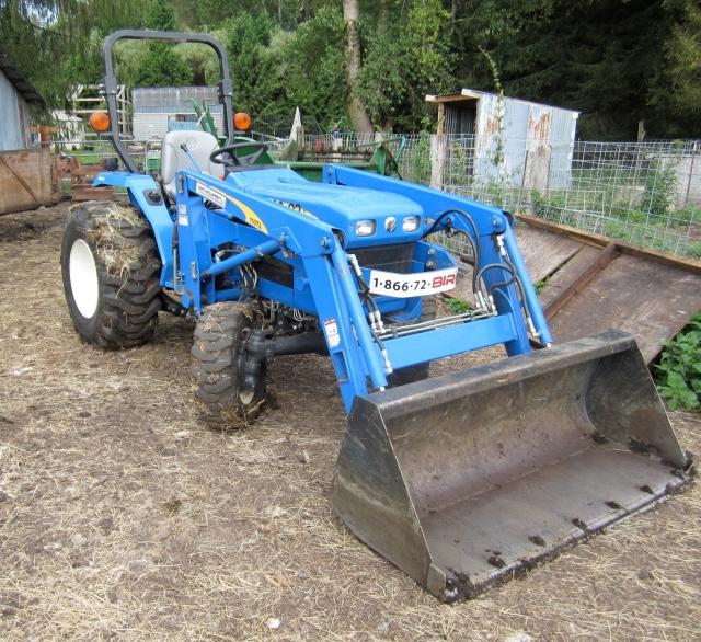 Birch tractor