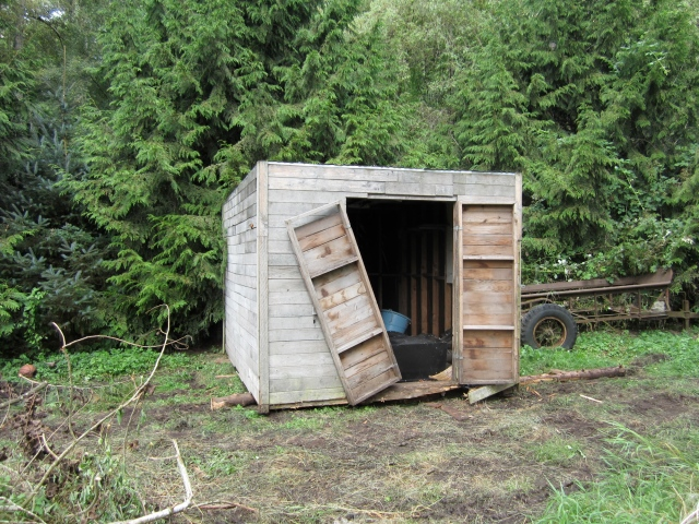 moved shed