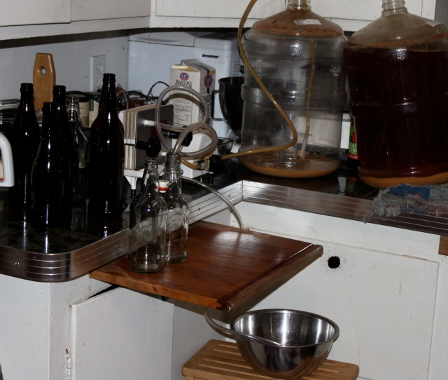 bottling station