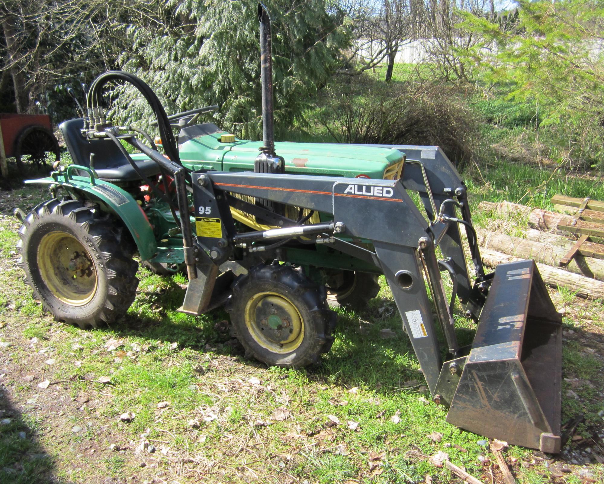 Antique Yanmar Tractors : Goodbye tractor schoonover farm