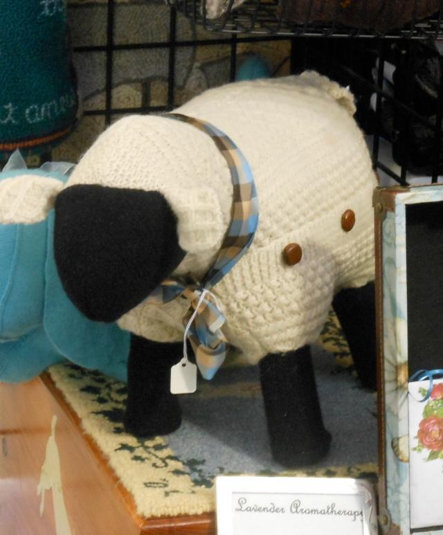 cool stuffed sweater sheep