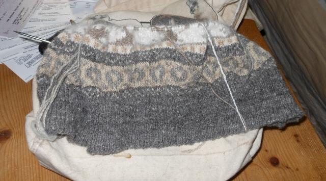 sweater progress