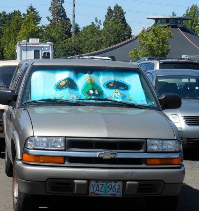 windshield shade screen