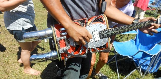 muffler guitar