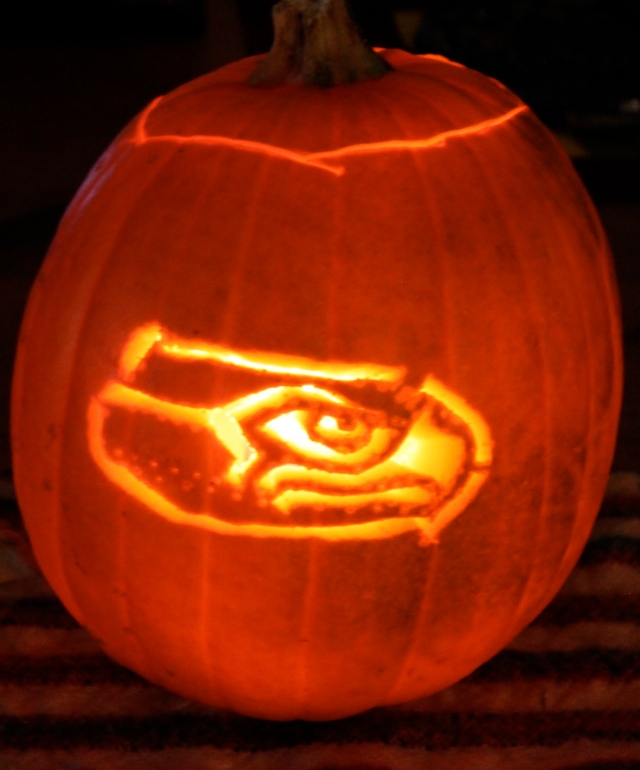 seahawk pumpkin