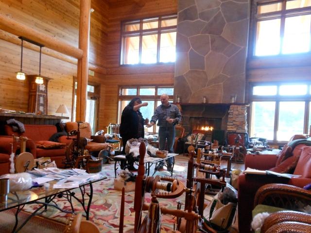 Greg teaching spinning