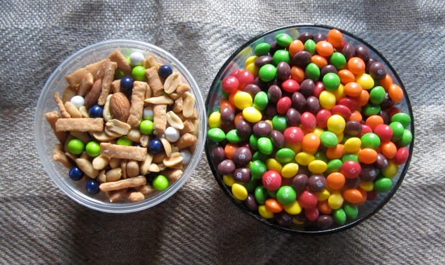beast mix and skittles