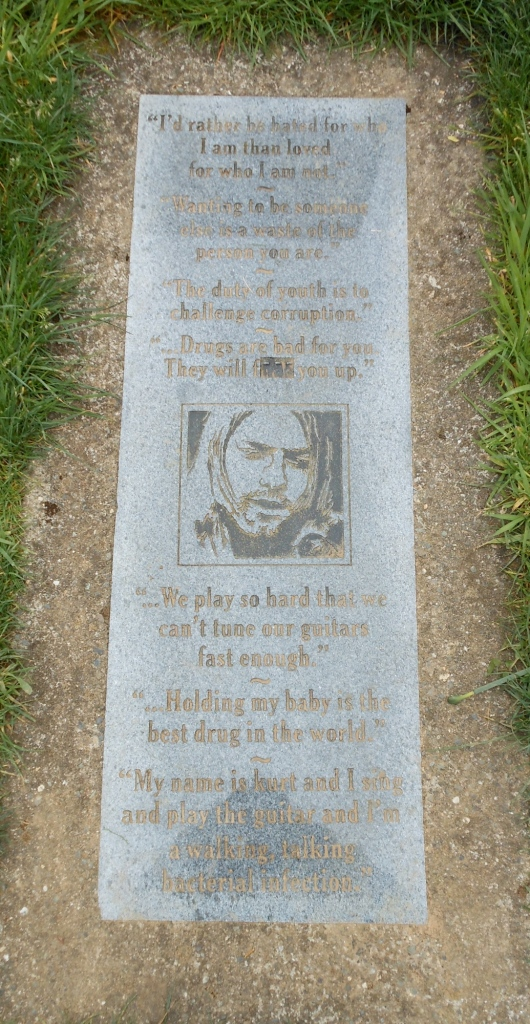 Cobain plaque