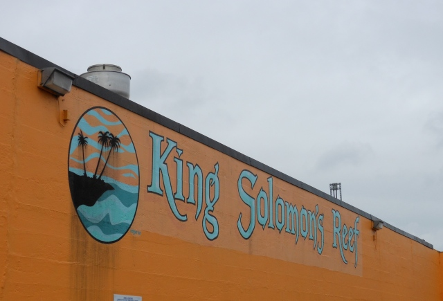 King Solomons Reef sign