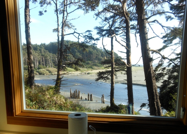 kitchen view from Iron Springs cabin