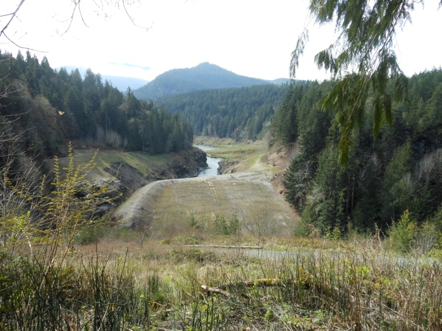 lower dam site