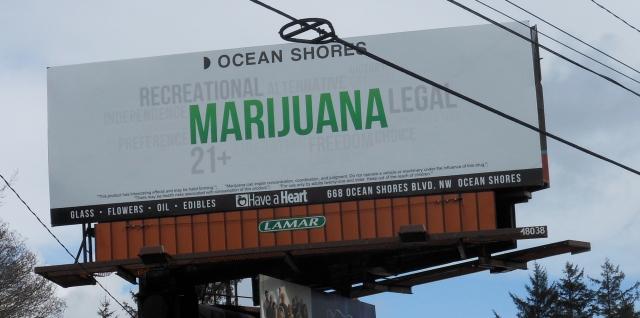 Ocean Shores sign
