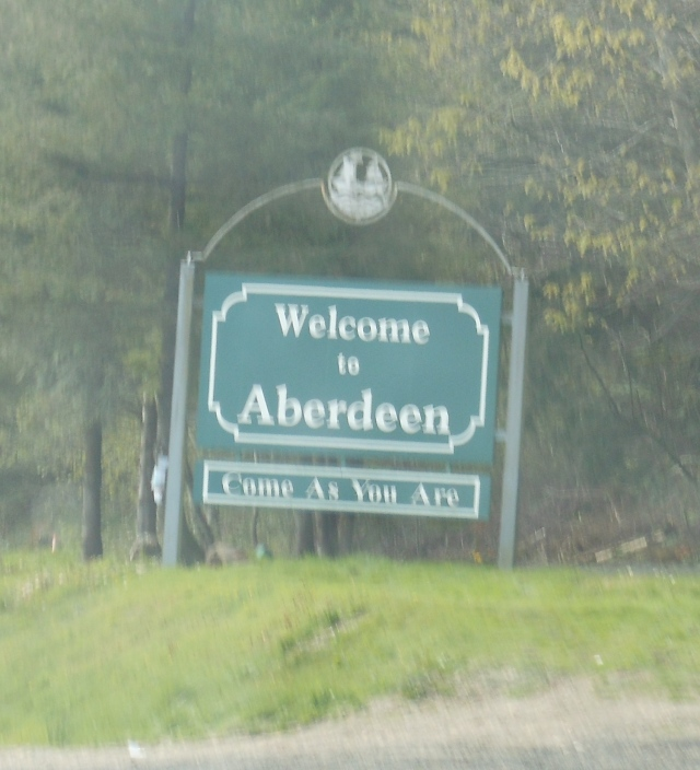 sign in Aberdeen
