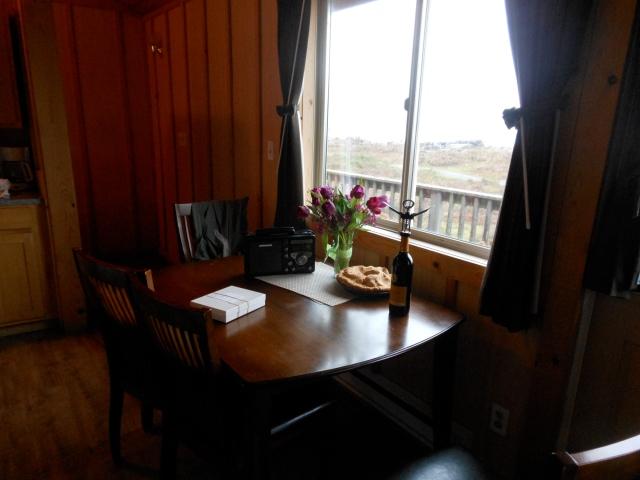 table at Quileute Oceanside Resort
