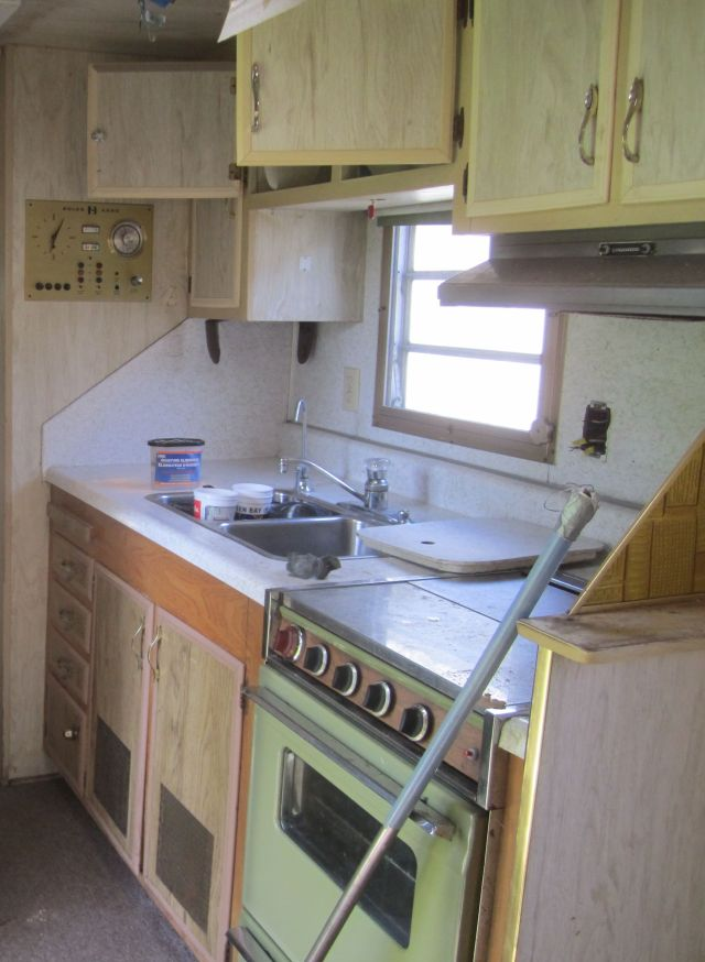 trailer kitchen