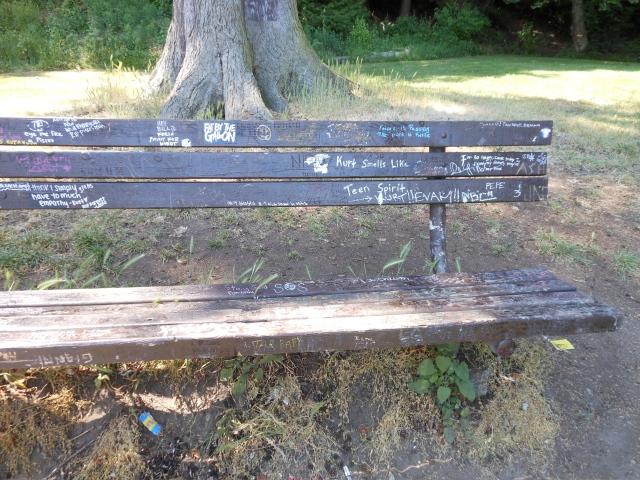 Viretta Park bench1
