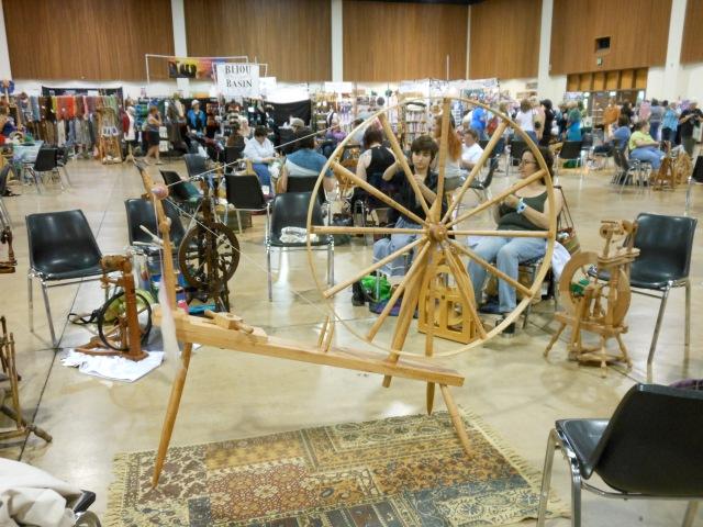 Great wheel at spinning circle
