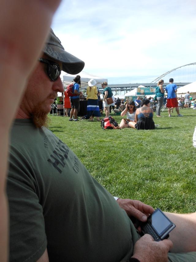Tom at Cider Fest