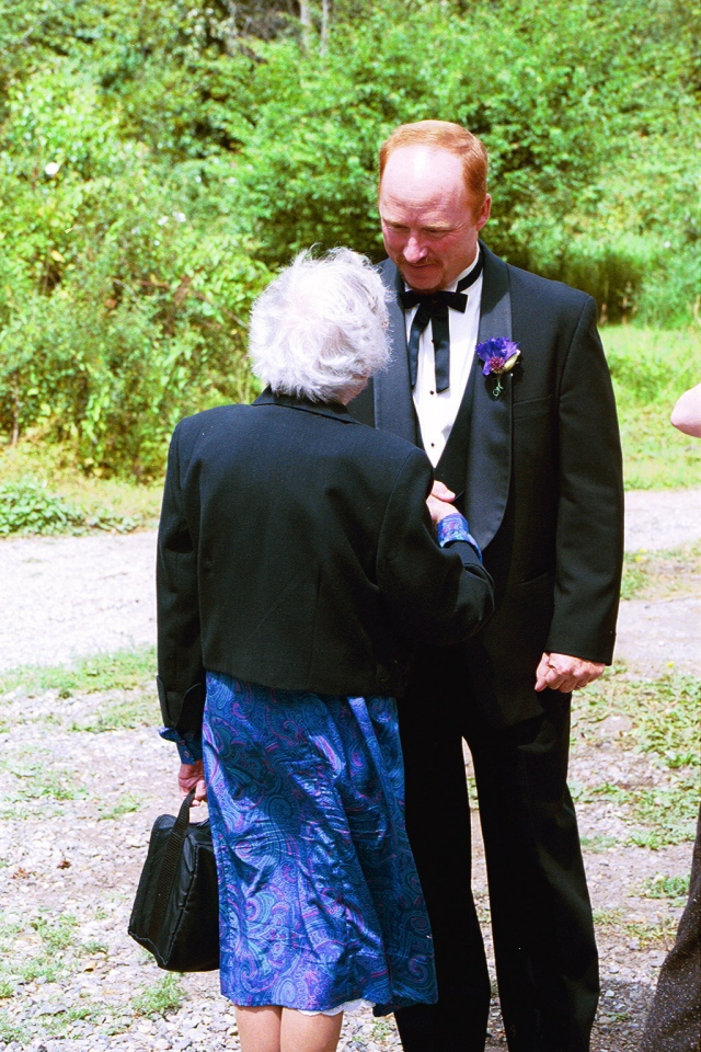 Tom and Gramma Showalter