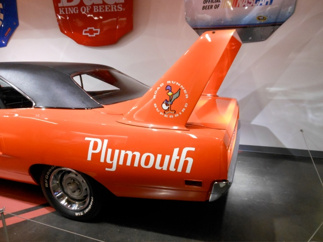 1970 Superbird wing