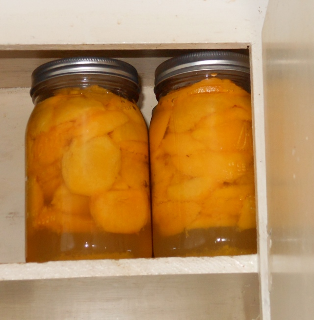 6 quarts of peaches