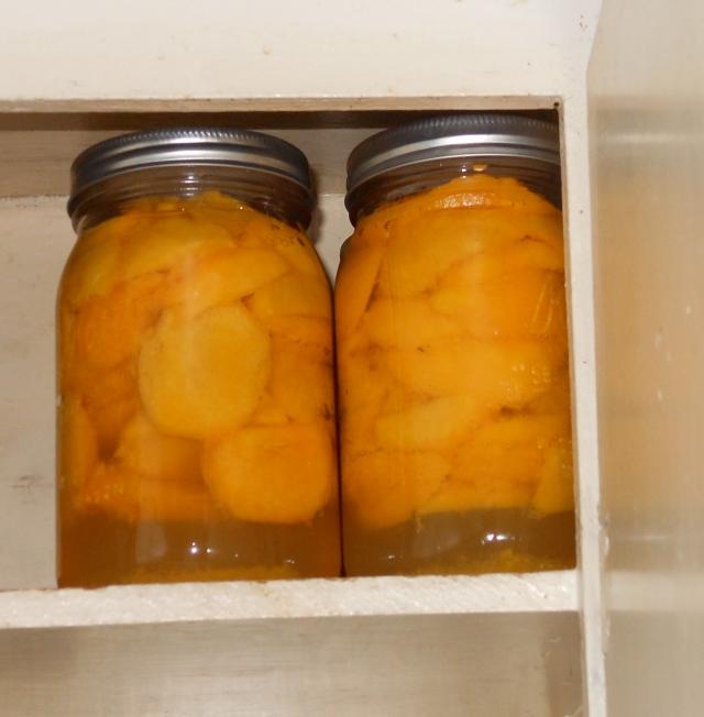 6 quarts of peaches