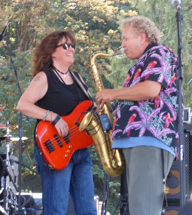 Barbra Blue and Jim King