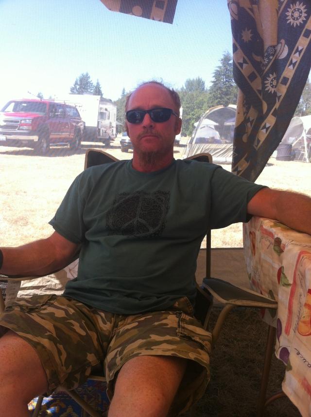 Tom at Mount Baker Blues