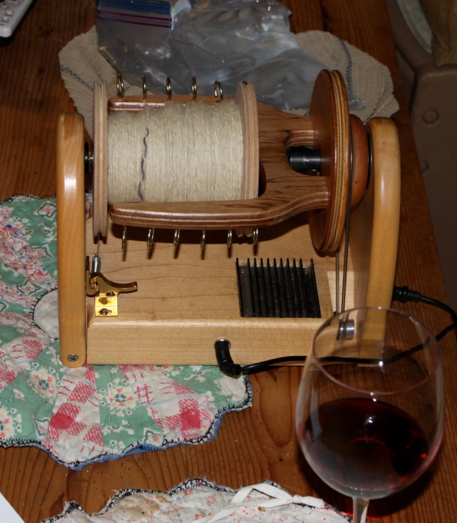 James yarn with ice and wine