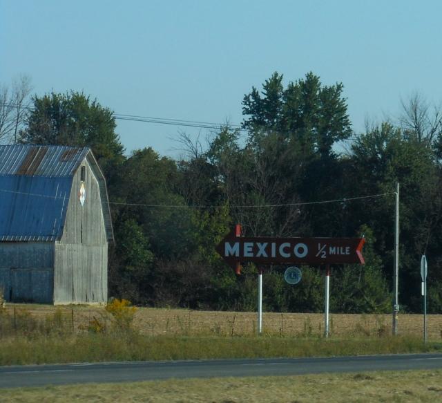 Mexico sign