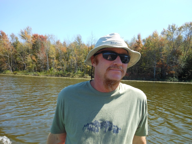 Tom on Elkhart River