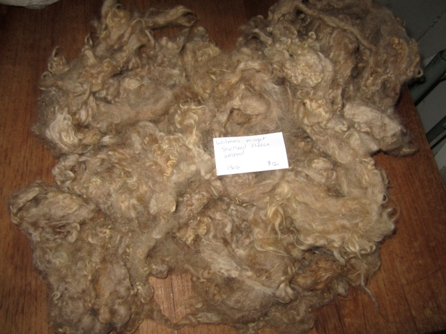 Wilma washed fleece