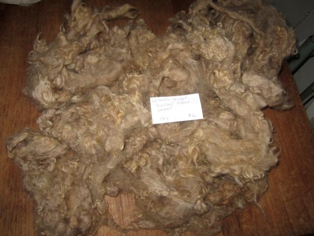 Wilma washed fleece
