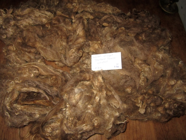 Wink washed fleece