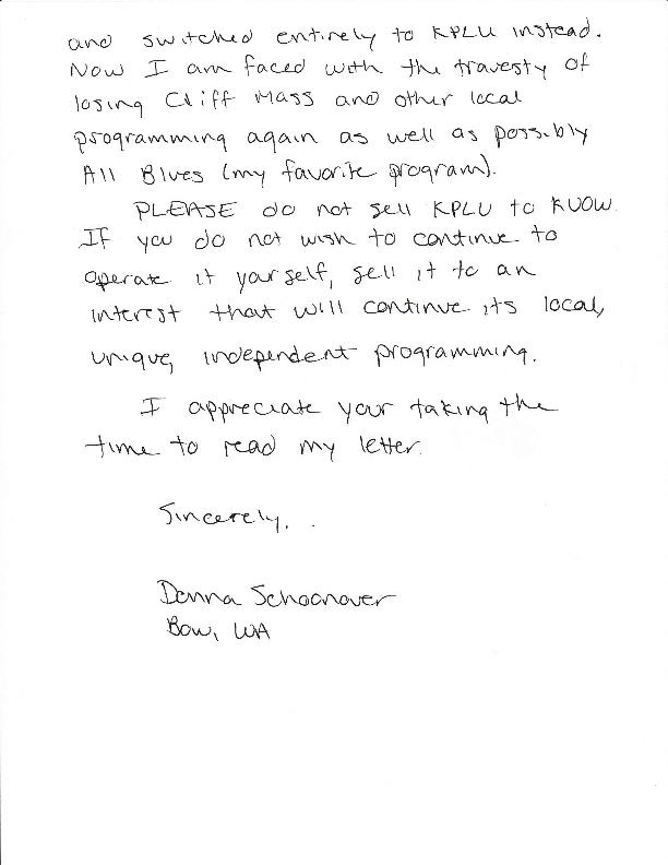 PLU letter page 2