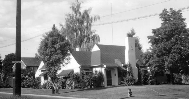 2711 West Chestnut in Yakima Washington, John Stone boyhood home.