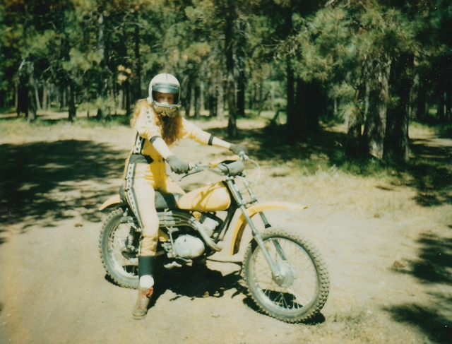 Donna on yamaha_NEW
