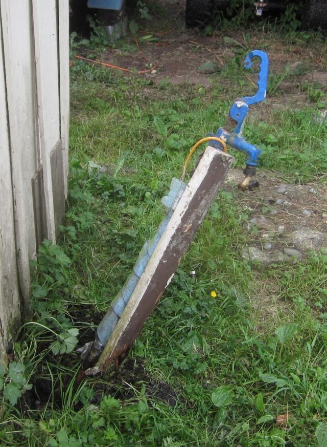 broken faucet