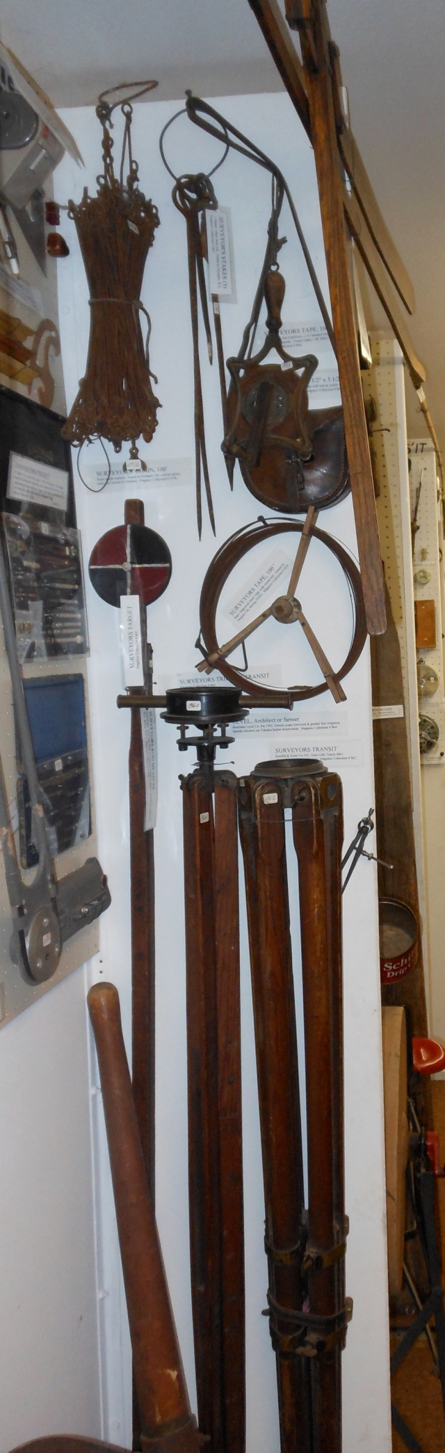 Old surveyors equipment