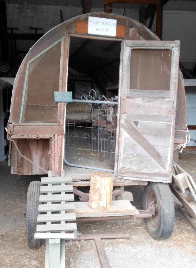 Sheepherders wagon