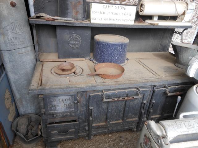 Wenas Sheepcamp stove