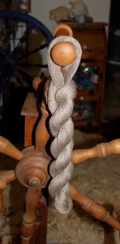 mioget katmoget Shetland skein