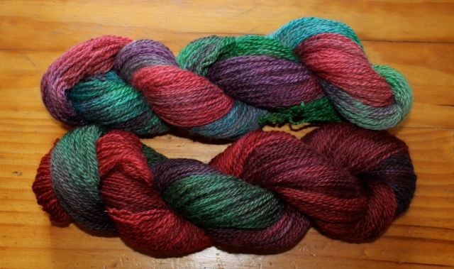 Jewel skeins