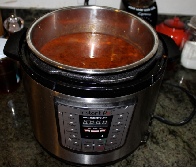 red and black bean chili