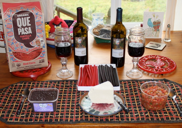red-and-black-food
