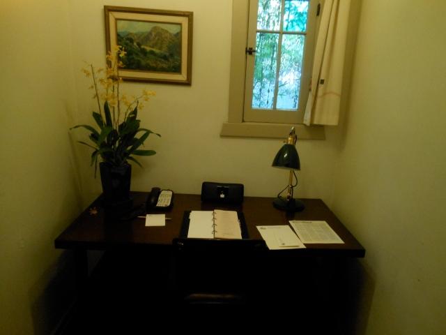 Chateau Marmont desk